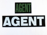 "Agent IR Reflective Markers 3"" x 5"" (Single)"